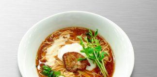 ご褒美ラーメン・ドゥエ イタリアン渋谷「フォアグラ味噌らぁ麺」