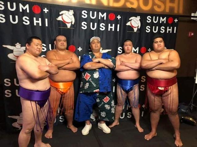 田代良徳さんの海外イベントの様子